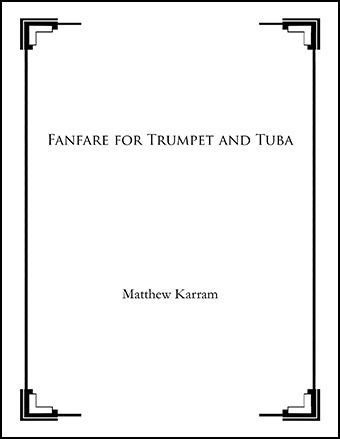 Fanfare for Trumpet and Tuba