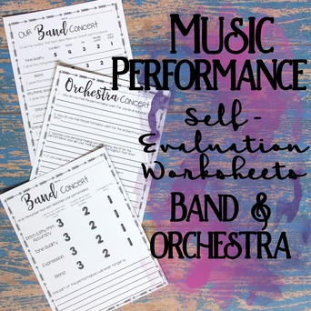 Music Performance Self-Evaluation: Band & Orchestra