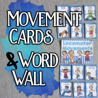 Movement Cards & Word Wall Thumbnail