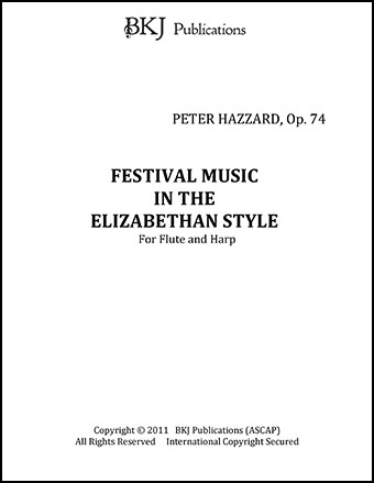 FESTIVAL MUSIC IN THE ELIZABETHEN STYLE, OP 74