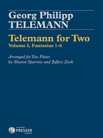 Telemann for Two: Volume No.1 Fantasias Nos.1-6