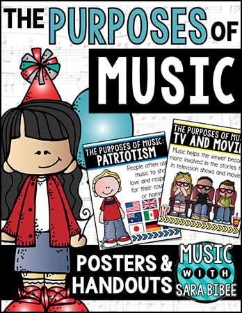 Purposes of Music Poster Set (Digital Resources&n | J W