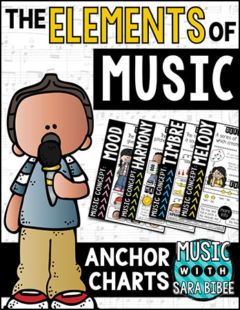 The Elements of Music Anchor Charts