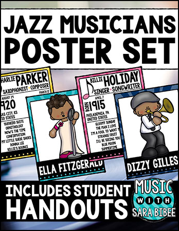 Jazz Musicians Posters