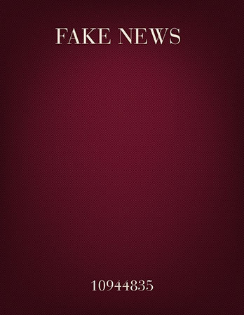 Fake News in G major (choral)