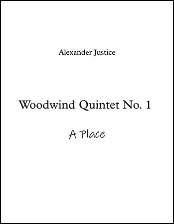 Woodwind Quintet No. 1 (A Place)