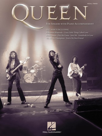 Queen vocal sheet music cover