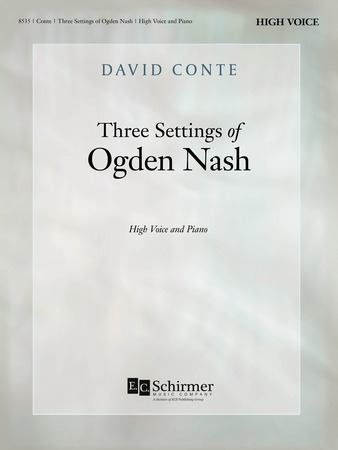 Three Settings of Ogden Nash