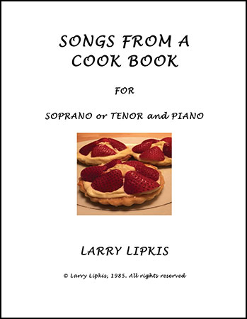 Songs from a Cook Book
