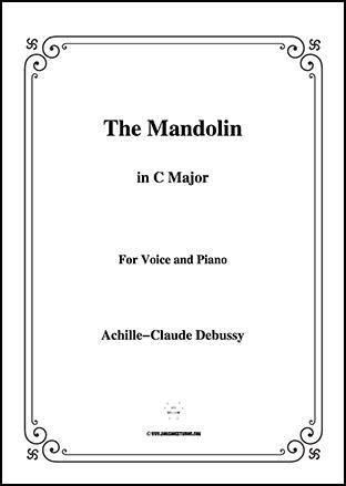 The Mandolin in C Major