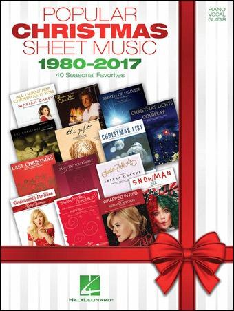 Popular Christmas Sheet Music 1980-2017