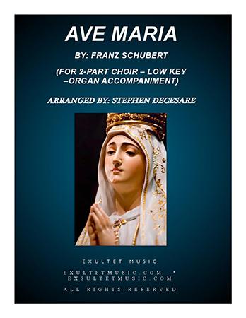 Ave Maria (2-part choir)