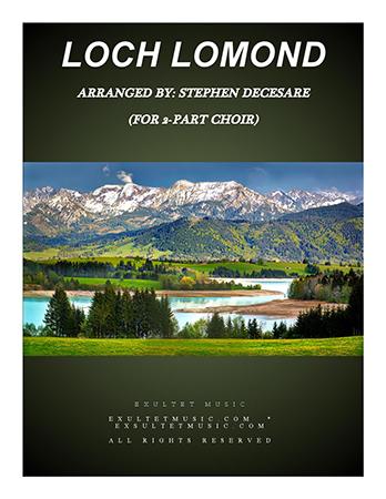 Loch Lomond (2-part choir)