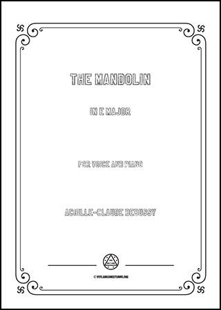 The Mandolin in E Major