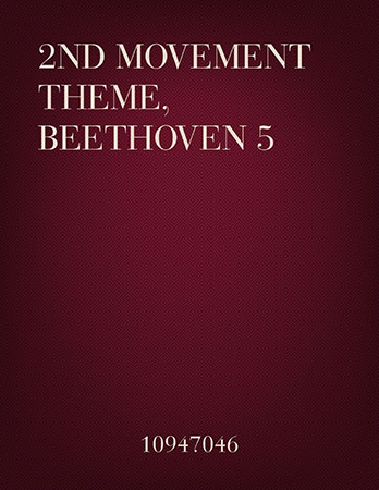2nd Movement Theme, Beethoven 5