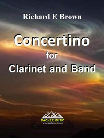 Concertino for Clarinet and Band Thumbnail