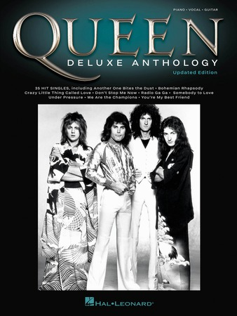 Queen Deluxe Anthology vocal sheet music cover