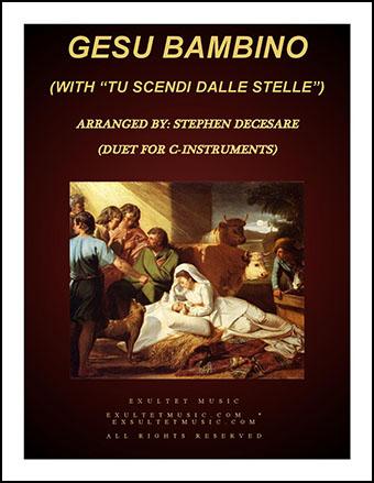 Gesu Bambino/Tu Scendi Dalle Stelle (Instrumental Duet)