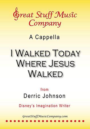 I Walked Today Where Jesus Walked Thumbnail