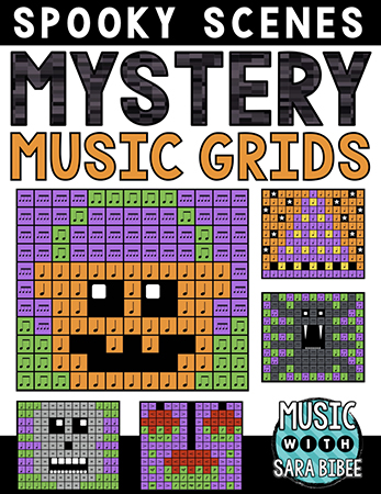 Spooky Mystery Music Grids - Bundle