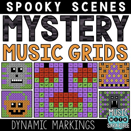 Spooky Mystery Music Grids - Dynamics