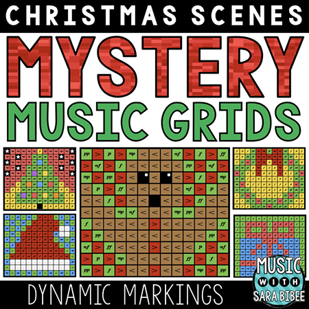 Christmas Mystery Music Grids - Dynamics