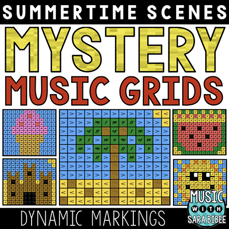 Summer Mystery Music Grids - Dynamics