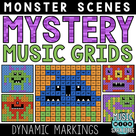 Monster Mystery Music Grids - Dynamics