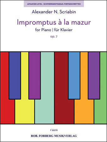Impromptus a la Mazur, Op. 7