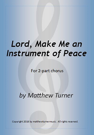 Lord, Make Me an Instrument of Peace