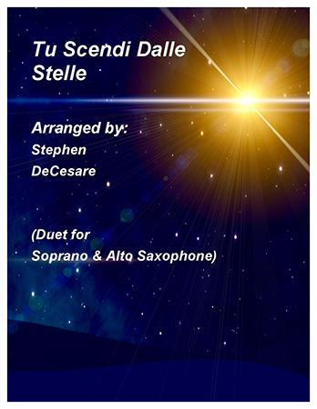 Tu Scendi Dalle Stelle (Soprano & Alto Saxophone)