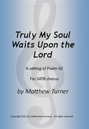 Truly My Soul Waits Upon the Lord