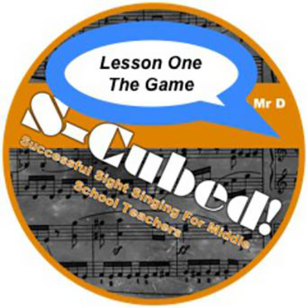 S-Cubed Sight Singing Program Lesson One