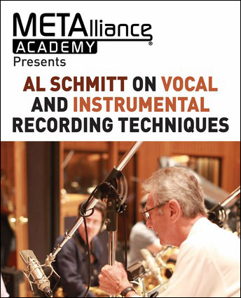 Al Schmitt on Vocal and Instrumental Recording Techniques
