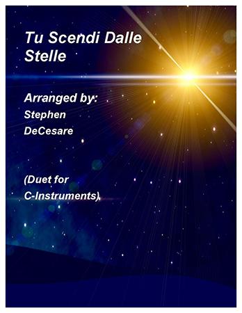 Tu Scendi Dalle Stelle (Duet for C-Instruments)