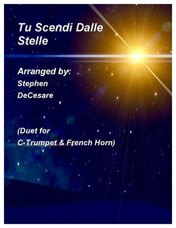 Tu Scendi Dalle Stelle (Duet for C-Trumpet & French Horn)