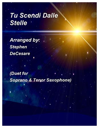 Tu Scendi Dalle Stelle (Duet for Soprano & Tenor Sax)