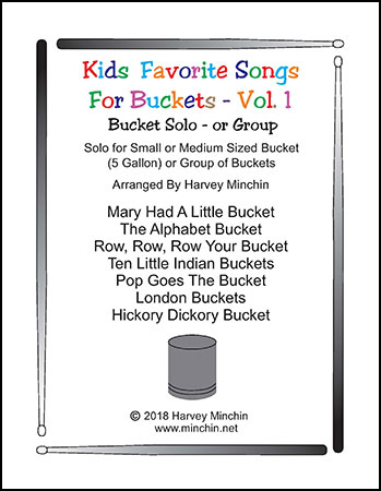 Kid's Favorite Songs For Buckets - Vol. 1