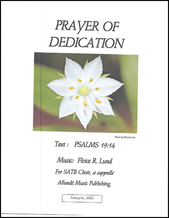 Prayer of Dedication