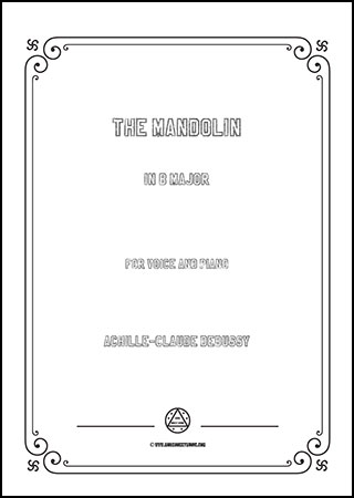 The Mandolin in B Major