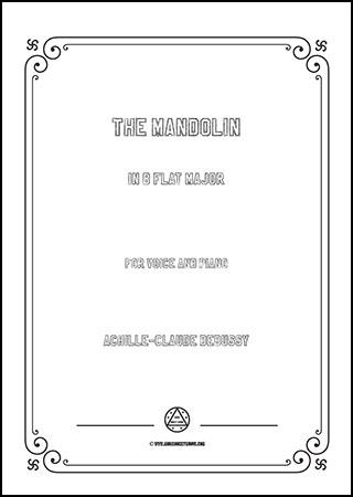 The Mandolin in B flat Major