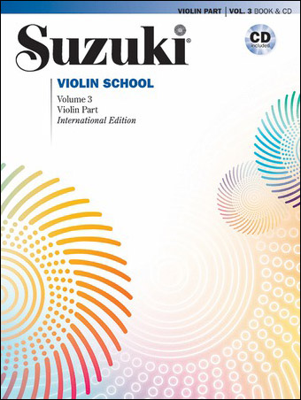 Suzuki Violin School #3 Revised
