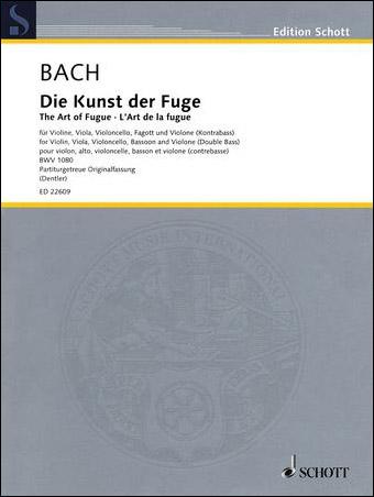 The Art of the Fugue, BWV 1080