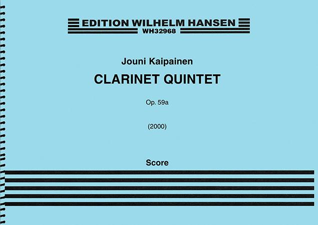 Clarinet Quintet, Op. 59a
