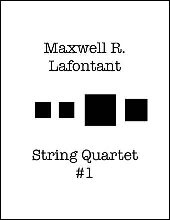 String Quartet #1