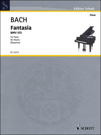 Fantasia, BWV 572