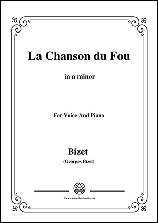 La Chanson du Fou in a minor