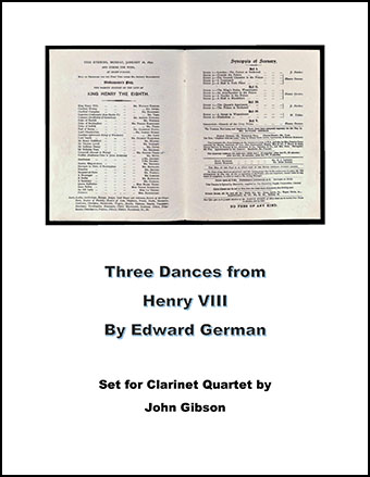Three Dances from Henry VIII