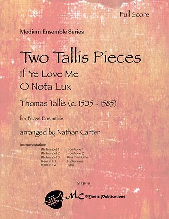 Two Tallis Pieces