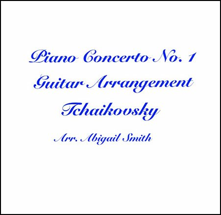 Piano Concerto No. 1 Guitar Arrangement